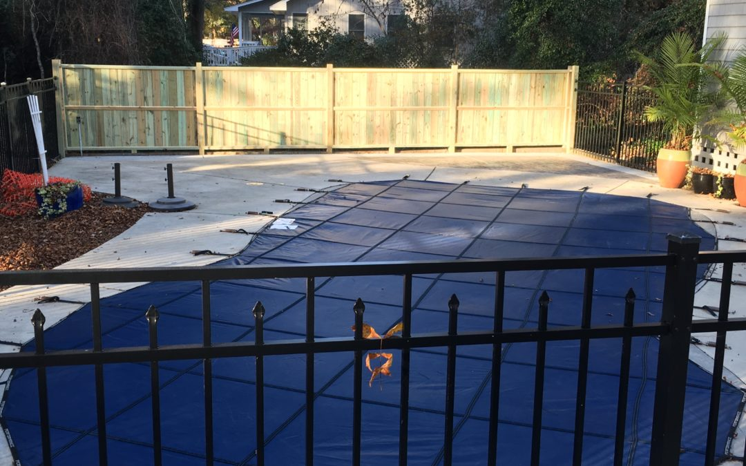 Time for a new pool cover