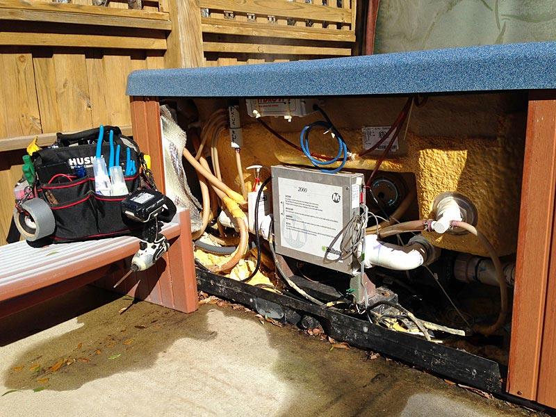 Hot Tub Maintenance in Kitty Hawk NC